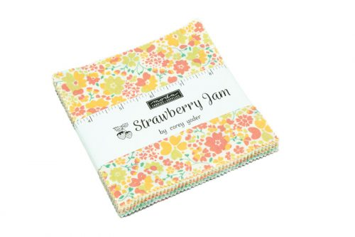 strawberry jam charm pack