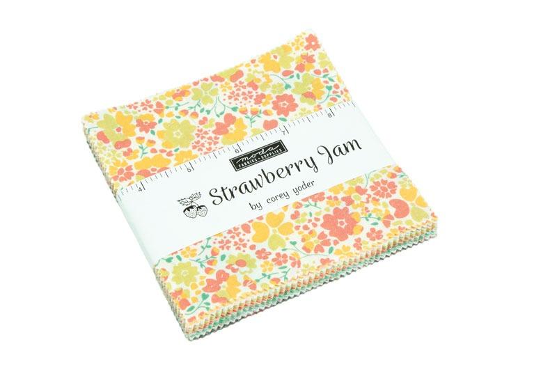 strawberry jam charm pack