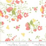 Strawberry Jam Cloud (white) by Corey Yoder (Little Miss Shabby) for Moda 25cm cuts WOF