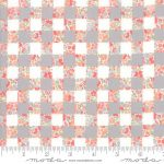 Strawberry Jam Dusk (gingham grey) by Corey Yoder (Little Miss Shabby) for Moda 25cm cut WOF