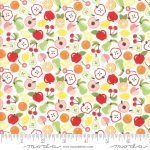Orchard Bounty White by April Rosenthal 25cm cuts WOF