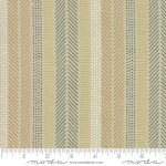 Safari Life Stripe on Natural 25cm cut WOF