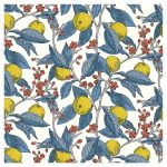 Liberty Cotton Fabric Conservatory Fruits 25cm cut WOF