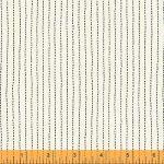 Sashiko Stripes in Ivory, 25cm cut WOF