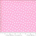 Be Mine Sweet Nothings, White hearts on pink, 25cm cut WOF