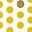 Polka Dot buttons, Dijon, 25cm cut WOF