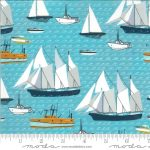 Lakeside Story Boats Freshwater, 25cm cut WOF