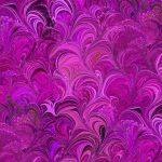 Poured Colour Cosette Fuchsia, 25cm cut WOF