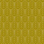 Century Prints - Deco, Curtains, Brass, 25cm cut WOF