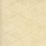 Mill Creek Garden Ivory Green Diamond Stitches, 25cm cut WOF