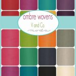 Ombre Wovens by V & Co, 25cm cut WOF