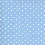 Crystal Lane, White spot on Cashmere Blue, 25cm cut WOF
