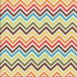 Remix Chevron, Multicoloured, 25cm cut WOF