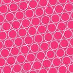 Mini Pearl Bracelets, Hot Pink, 25cm cut WOF
