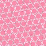 Mini Pearl Bracelets, Mid candy pink, 25cm cut WOF