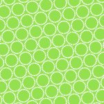 Mini Pearl Bracelets, Lime Green, 25cm cut WOF