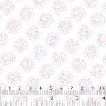 Floral Fields, Pink, 25cm cut WOF