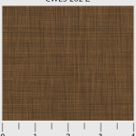 Color Weave, med to dark chocolate brown, 25cm cut WOF