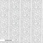 Ella's Basics, Australian places, black newsprint on white, 25cm cut WOF