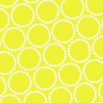 Mini Pearl Bracelet, Bright Limey Yellow, 25cm cut WOF