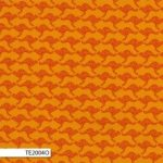 Kangaroos, Orange, 25cm cut WOF