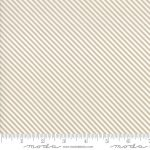 Bloomington, Taupe and White Diagonal Stripe, 25cm cut WOF