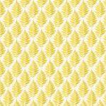 Fern Garden in Yellow, 25cm cut WOF
