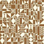 Samba Geo Brown, Ipanema, 25cm cut WOF