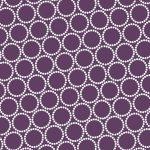 Mini Pearl Bracelets, Dark Purple, 25cm cut WOF
