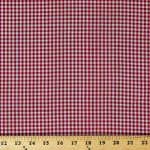 Red Gingham Check, 1/8